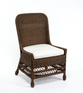 Dark Walnut Catalina Pull Up Chair