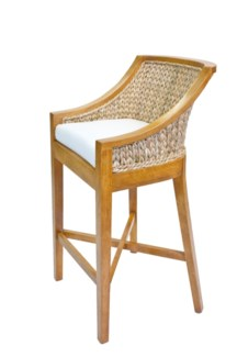 Rosemary Sweater Weave Bar Stool