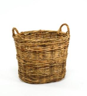Cottage Blanket Basket