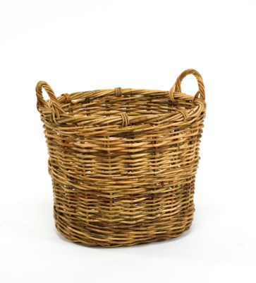 Cottage Blanket Basket