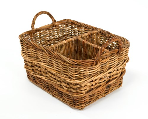 Cottage Organizer Basket