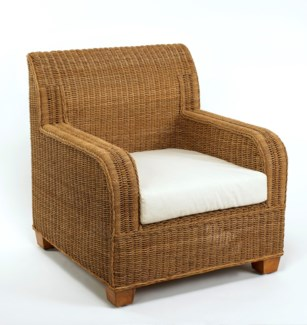 Beachcomber Rope Club Chair
