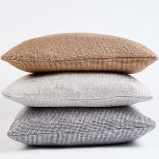 metallic glaze pillow