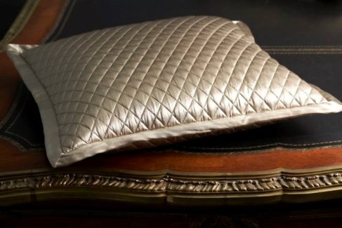 charmeuse quilted pillow