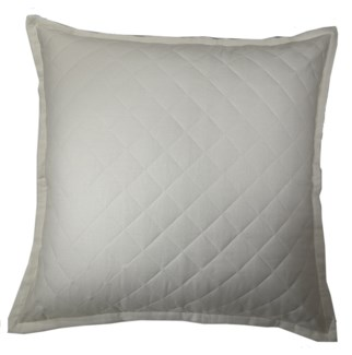 linen quilted sham