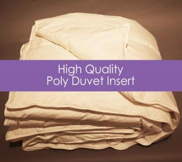 high quality poly duvet insert