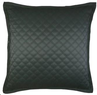double diamond coverlet set - charcoal