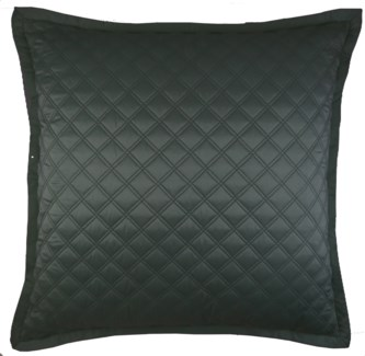 double diamond coverlet set - charcoal