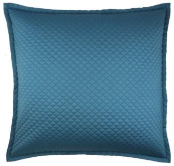 single diamond coverlet set - teal