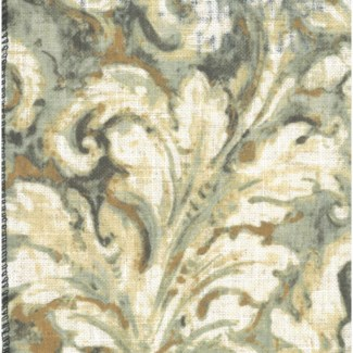acanthus pillow