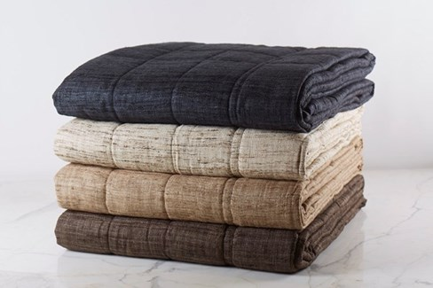 wild silk coverlet