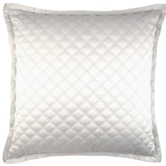 double diamond coverlet set - ivory