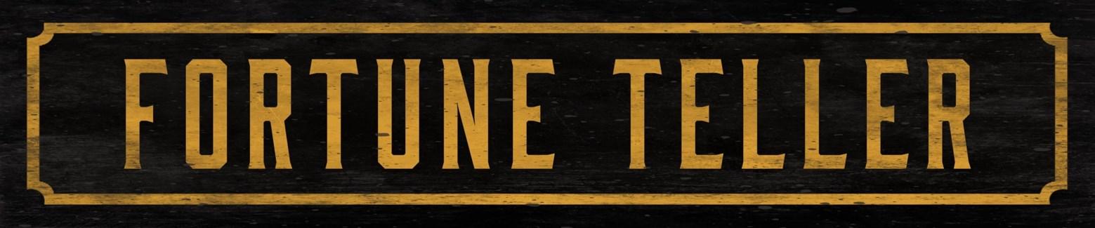 Fortune Teller Street Sign