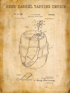 Beer Barrel Patent