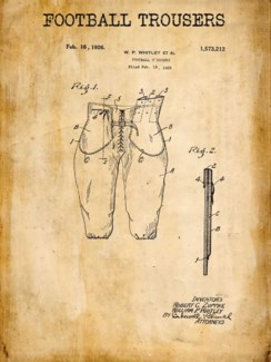 Football Trousers Patent