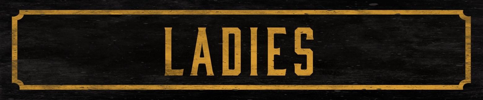 Ladies Street Sign