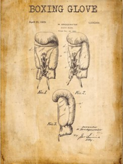 Boxing Glove Patent