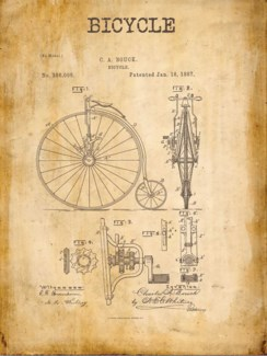 Arial Bicycle Patent
