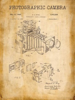 Bellows Camera Patent