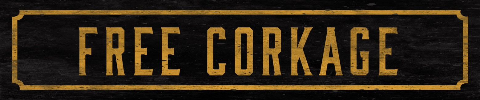 Free Corkage Street Sign