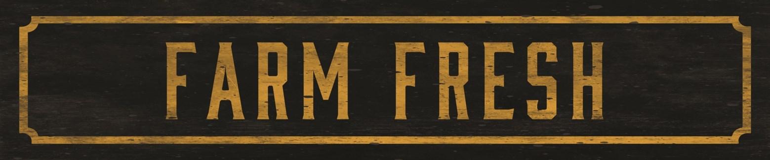 FARM FRESH STREET SIGN