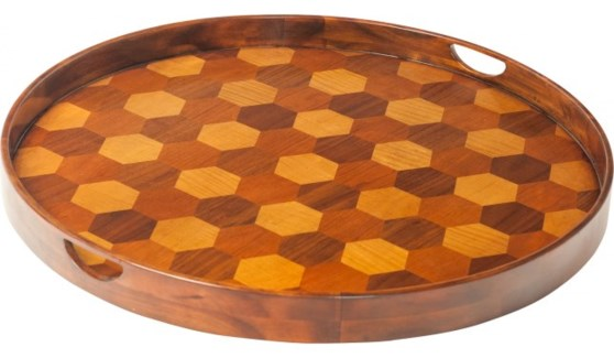 Hive Tray Honeycomb Round