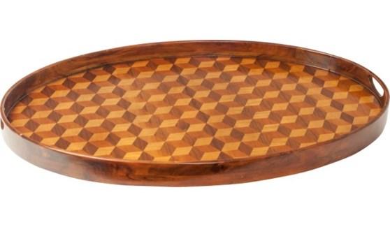 Hive Tray Rhomboid Oval
