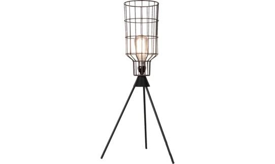 Basket Table Lamp