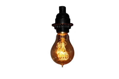 4 inch Spiral Light Bulb