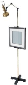 Easel Floor Lamp