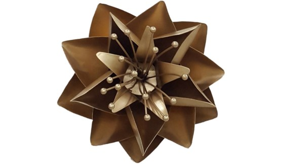 Gold Lotus Flower 12Inch