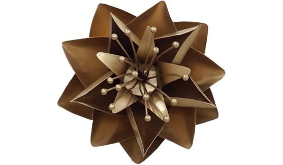 Gold Lotus Flower 12Inch