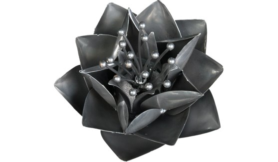 Platinum Lotus Flower 12Inch