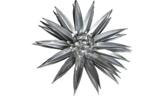 Platinum Cactus Flower 12Inch