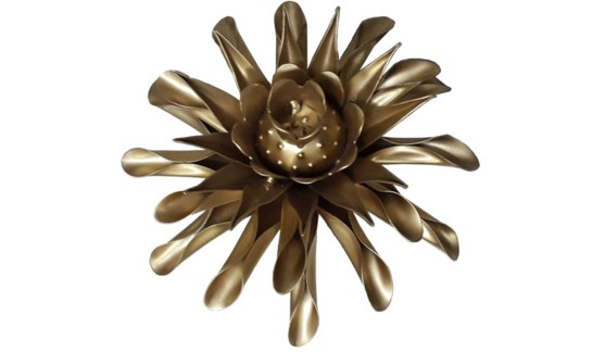 Gold Clematis Flower 12Inch