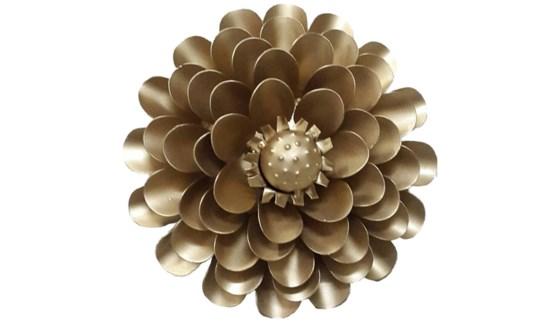 Gold Aster Flower 12Inch