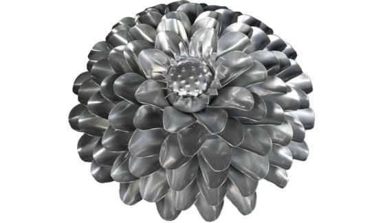 Platinum Aster Flower 12Inch