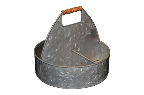 Zinc Carrier With Handle