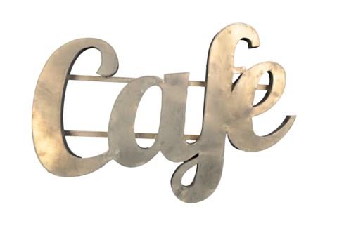 Café' Zinc Sign