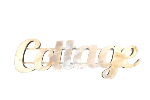 Cottage' Zinc Sign