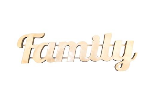 Family' Zinc Sign