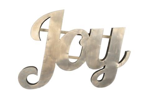 Joy' Zinc Sign