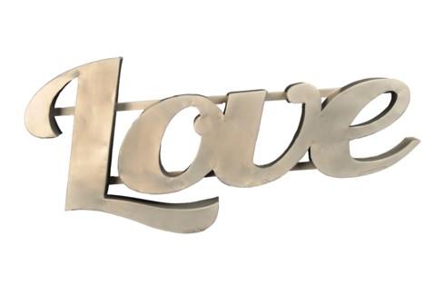 Love' Zinc Sign