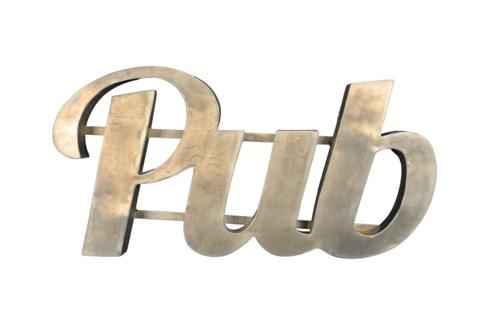 """Pub"""" Zinc Sign"""