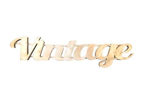 Vintage' Zinc Sign