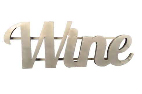 Wine' Zinc Sign