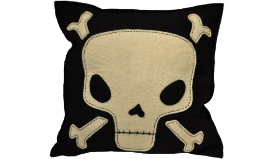 Skull & Crossbone Pillow