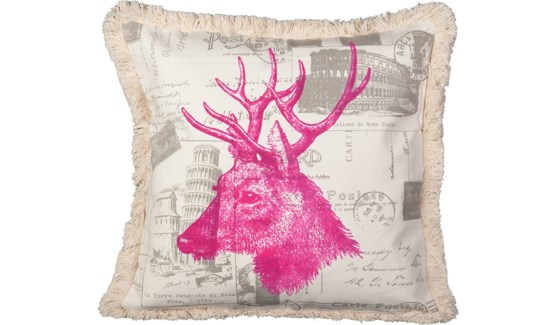 Elk Pink Pillow
