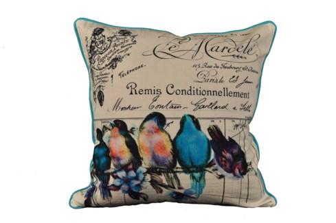Birds On A Branch Pillow