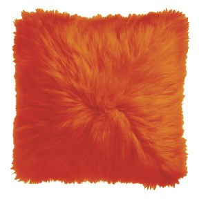 Orange Icelandic Pillow